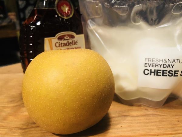 ブラータチーズでデザート!